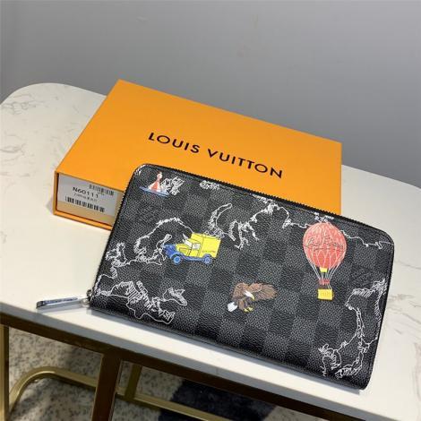 ルイヴィトン LOUIS VUITTON 長財布 人気 N60111偽物販売口コミ