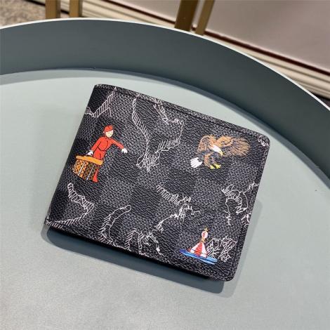 ルイヴィトン LOUIS VUITTON 短財布 新品同様  N62663スーパーコピーブランド財布