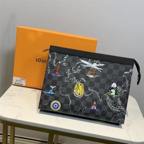ルイヴィトン LOUIS VUITTON クラッチバッグ セカンドバッグ 美品 N41696スーパーコピーブランドバッグ激安販売専門店