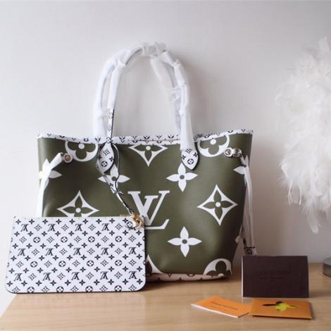 ブランド安全ルイヴィトン LOUIS VUITTON ボストンバッグ ショルダーバッグ ショッピング袋 2色 定番人気  M44568/M44567偽物販売口コミ
