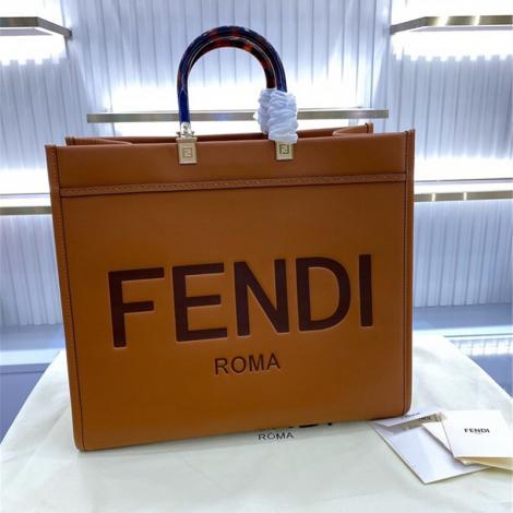 フェンディ FENDI トートバッグ 新品同様  ショッピング袋コピーブランド激安販売バッグ専門店