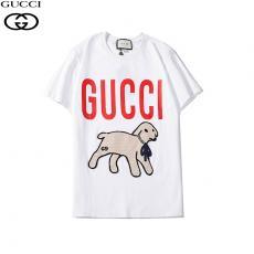 グッチ GUCCI メンズ/レディース クルーネック Tシャツ 綿 カップル   新入荷 人気スーパーコピー安全後払い専門店