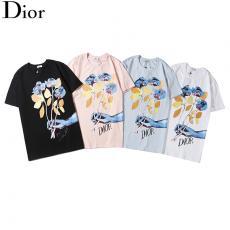 ディオール Dior メンズ/レディース  4色 クルーネック Tシャツ 綿 新作激安販売口コミ