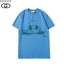 グッチ GUCCI メンズ/レディース 2色 クルーネック Tシャツ 綿  新作レプリカ 代引き