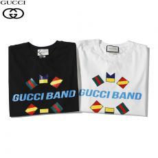 ブランド安全グッチ GUCCI メンズ/レディース 2色 クルーネック Tシャツ 綿 カップル 2020年新作レプリカ口コミ販売