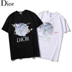 ディオール Dior メンズ/レディース クルーネック Tシャツ 綿 2色 定番人気最高品質コピー代引き対応