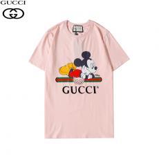 グッチ GUCCI メンズ/レディース クルーネック 綿 Tシャツ カップル 美品口コミ激安代引き