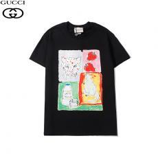 グッチ GUCCI メンズ/レディース 3色 クルーネック 綿 Tシャツ おすすめスーパーコピー代引き国内発送
