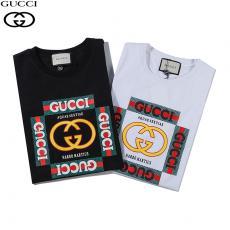 グッチ GUCCI メンズ/レディース クルーネック Tシャツ 綿 2色 2020年春夏新作スーパーコピー代引き国内発送
