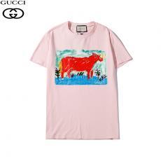 グッチ GUCCI メンズ/レディース 3色 クルーネック Tシャツ 綿 カップル 人気格安コピー口コミ