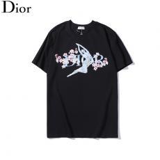 ディオール Dior メンズ/レディース 2色 クルーネック Tシャツ 綿 高評価スーパーコピーブランド代引き