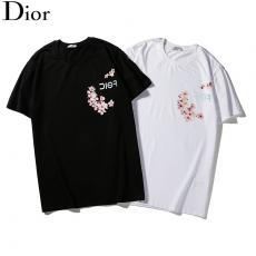 ディオール Dior メンズ/レディース 2色 クルーネック Tシャツ 綿 2020年新作スーパーコピー安全後払い