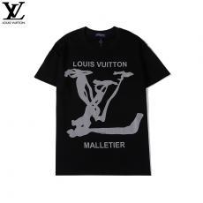 ルイヴィトン LOUIS VUITTON メンズ/レディース 3色 クルーネック Tシャツ 綿 カップル  2020年新作スーパーコピー専門店