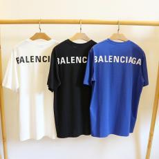 ブランド通販バレンシアガ BALENCIAGA メンズ/レディース  クルーネック Tシャツ 綿 3色 カップル 新品同様スーパーコピーブランド激安販売専門店