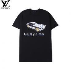 ルイヴィトン LOUIS VUITTON メンズ/レディース カップル 2色 クルーネック Tシャツ 綿 2020年春夏新作偽物販売口コミ