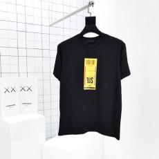 プラダ PRADA メンズ/レディース 2020年新作 2色 クルーネック Tシャツ 綿最高品質コピー代引き対応