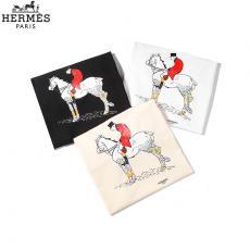 エルメス  HERMES メンズ/レディース カップル  クルーネック Tシャツ 綿 2020年新作 3色激安販売専門店