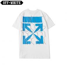 オフホワイト Off White メンズ/レディース カップル 2色 クルーネック Tシャツ 綿 新品同様激安代引き