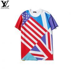 ルイヴィトン LOUIS VUITTON メンズ/レディース クルーネック Tシャツ 綿 送料無料スーパーコピーブランド代引き