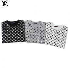 ブランド通販ルイヴィトン LOUIS VUITTON メンズ/レディース 3色 クルーネック Tシャツ 綿 人気スーパーコピー代引き国内発送