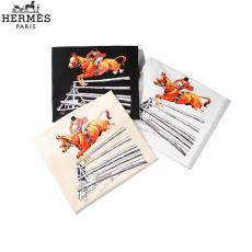 ブランド通販エルメス  HERMES メンズ/レディース クルーネック Tシャツ 綿 3色 カップル 2020年新作最高品質コピー