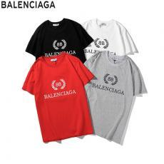 バレンシアガ BALENCIAGA メンズ/レディース 4色 クルーネック Tシャツ 綿 高評価激安 代引き口コミ