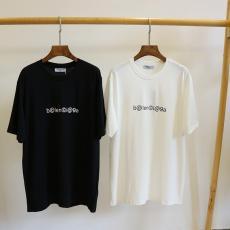 バレンシアガ BALENCIAGA メンズ/レディース カップル 2色 クルーネック Tシャツ 綿 2020年春夏新作コピー 販売
