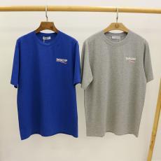 バレンシアガ BALENCIAGA メンズ/レディース クルーネック Tシャツ 綿  カップル  人気格安コピー口コミ