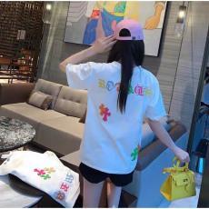 ブランド後払いクロムハーツ Chrome Hearts メンズ/レディース カップル 2色 クルーネック Tシャツ 綿 2020年春夏新作コピー 販売口コミ