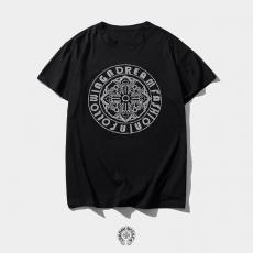 ブランド販売クロムハーツ Chrome Hearts メンズ/レディース おすすめ クルーネック Tシャツ 綿スーパーコピーブランド激安安全後払い販売専門店