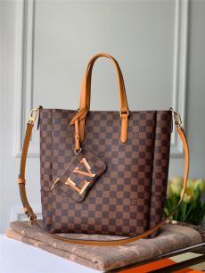 ルイヴィトン LOUIS VUITTON ボストンバッグ ショルダーバッグ ショッピング袋 人気 N60294  3色ブランドコピーバッグ安全後払い専門店
