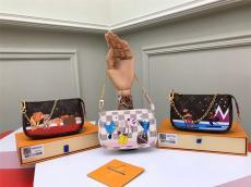 ルイヴィトン LOUIS VUITTON レディース 収納ボックス セカンドバッグ ボストンバッグ チェーン 3色 良品スーパーコピーバッグ激安国内発送販売専門店