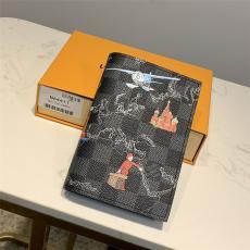 ルイヴィトン LOUIS VUITTON 短財布 パスポートホルダーN64411 良品レプリカ販売財布
