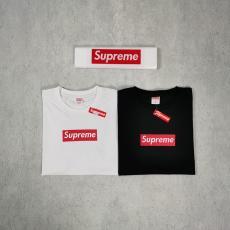 シュプリーム Supreme  メンズ/レディース カップル Tシャツ 綿 2色 クルーネック 人気ブランドコピー国内発送専門店