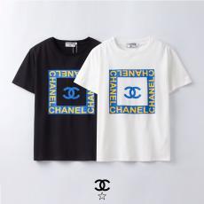 シャネル CHANEL カップル 2色 クルーネック 綿 Tシャツ  2020年春夏新作スーパーコピー激安販売