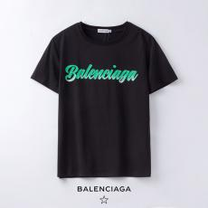 バレンシアガ BALENCIAGA メンズ/レディース 2色 クルーネック Tシャツ 綿  2020年新作偽物販売口コミ