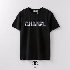 ブランド国内シャネル CHANEL メンズ/レディース クルーネック Tシャツ 綿 2色 2020年新作激安代引き口コミ