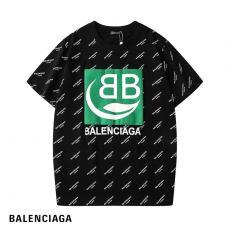 バレンシアガ BALENCIAGA メンズ/レディース クルーネック 2色 Tシャツ 綿  新作ブランドコピー代引き