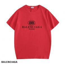 バレンシアガ BALENCIAGA メンズ/レディース カップル 3色 クルーネック Tシャツ 綿 人気レプリカ販売