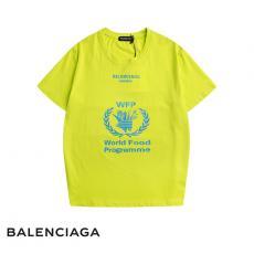 ブランド安全バレンシアガ BALENCIAGA メンズ/レディース 3色 クルーネック Tシャツ 綿 良品スーパーコピー国内発送専門店