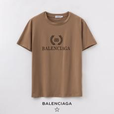 ブランド通販バレンシアガ BALENCIAGA メンズ/レディース 2色 クルーネック Tシャツ 綿 送料無料コピー 販売口コミ