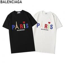 ブランド通販バレンシアガ BALENCIAGA メンズ/レディース 2色 クルーネック Tシャツ 綿 カップル 2020年春夏新作スーパーコピー代引き