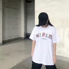 シュプリーム Supreme メンズ/レディース 2色 クルーネック Tシャツ 綿 カップル 送料無料スーパーコピー激安販売
