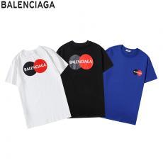 バレンシアガ BALENCIAGA メンズ/レディース 3色 Tシャツ 綿 クルーネック 新作ブランドコピー専門店