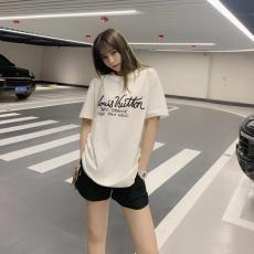 ルイヴィトン LOUIS VUITTON メンズ/レディース クルーネック Tシャツ 綿  新作ブランドコピー安全後払い専門店