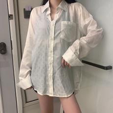ルイヴィトン LOUIS VUITTON メンズ/レディース カップル 2色 長袖 シャツ 高評価スーパーコピー激安安全後払い販売専門店