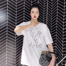 ブランド通販ルイヴィトン LOUIS VUITTON メンズ/レディース カップル クルーネック Tシャツ 綿 2色 2020年新作コピー代引き