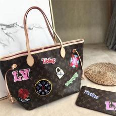 ルイヴィトン LOUIS VUITTON レディース ボストンバッグ ショルダーバッグ ショッピング袋  美品 M43988レプリカ販売