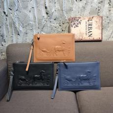 ブランド販売エルメス  HERMES メンズ クラッチバッグ セカンドバッグ 牛革 3色 新品同様  813-1コピー代引き国内発送