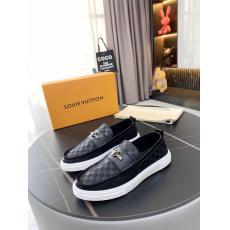 LOUIS VUITTON ルイヴィトン メンズカジュアルシューズ牛革防滑耐磨革靴ローファーブランドコピー工場直売販売店